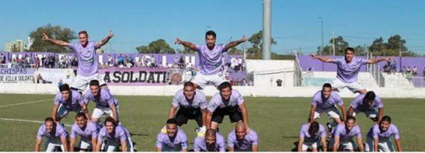 Coregrafia de după gol a jucătorilor argentinieni