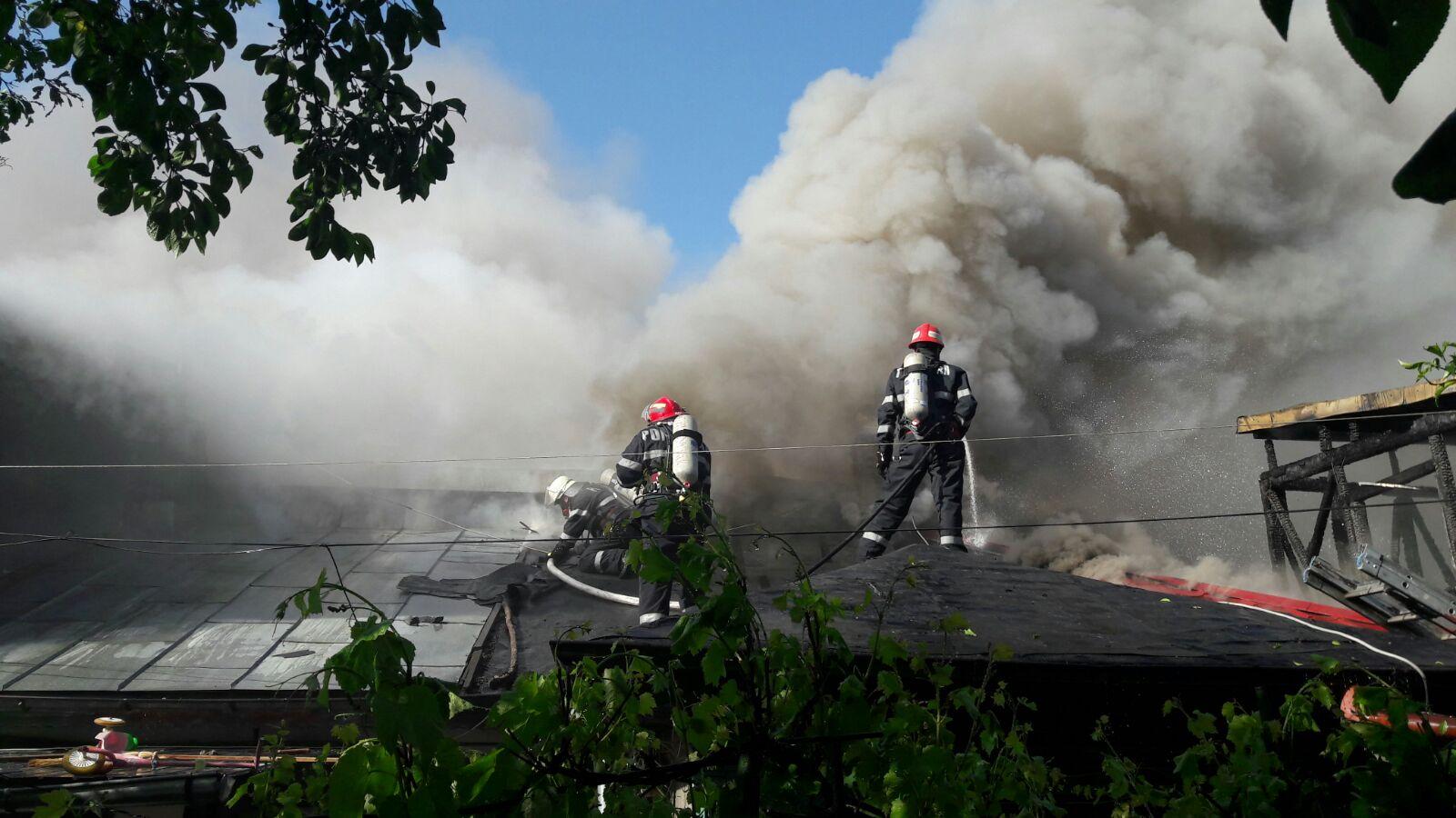 Exercițiu de alarmare publică în caz de cutremur ... |Incendiu Chitila