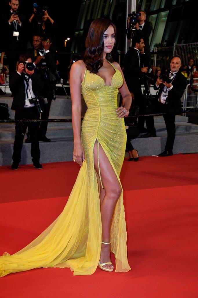 Irina Shayk, prima apariție pe covorul roșu după naștere