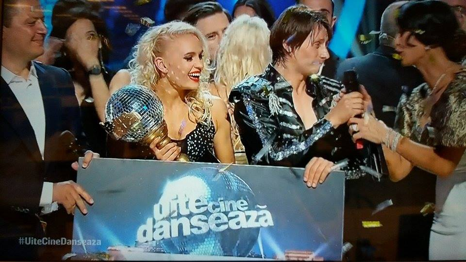 Marius Manole a câștigat Uite cine dansează