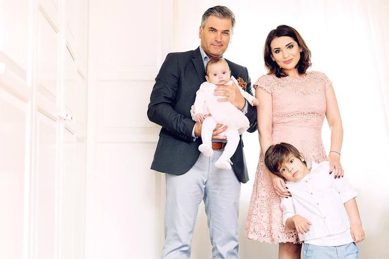 Mircea Radu și-a botezat fetița. Cât de frumoasă este Clara Elena