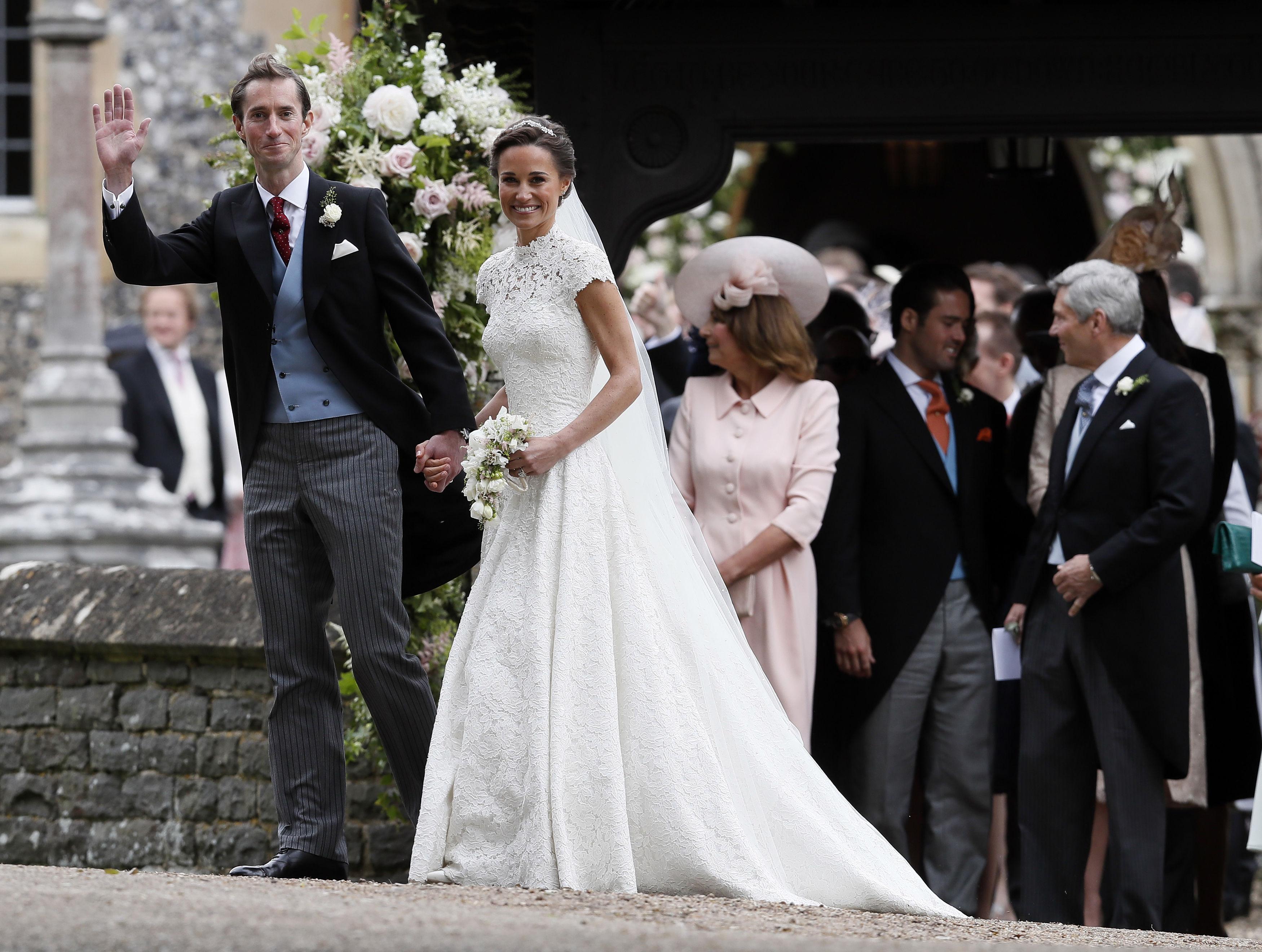 Invitații la nunta Pippei Middleton, răsfățați cu preparate alese. Care a fost meniul la nunta anului din Marea Britanie