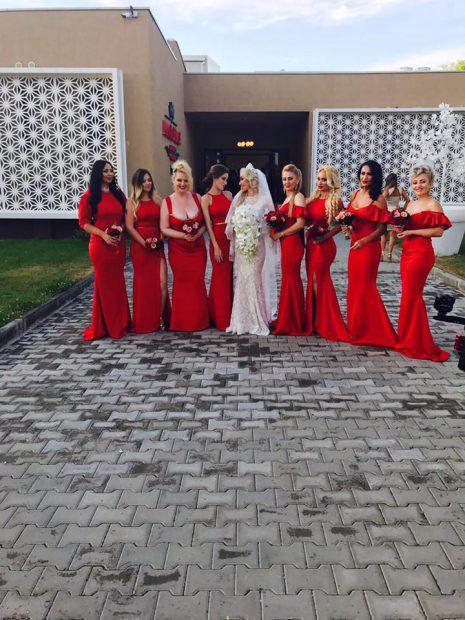 Sonia Trifan s-a măritat. Oana Lis, printre domnișoarele de onoare. Ce rochie a purtat