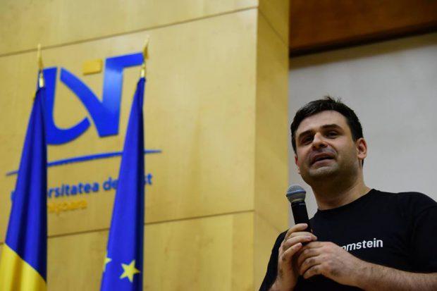 Ciprian Jichici, specialist IT și fost consilier local din partea PNL, în Timişoara,