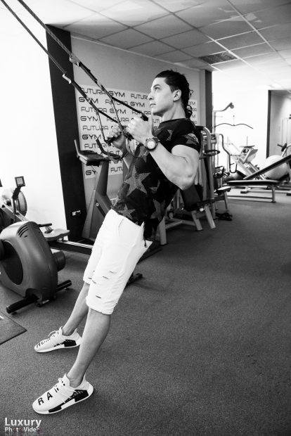 Alexander Florescu a renunțat la tenis pentru fitness, iar acum vrea să devină preparator fizic în fotbal!