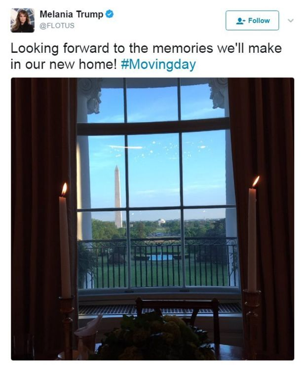 Melania Trump și fiul ei Barron s-au mutat la Casa Albă