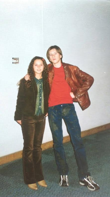 FOTO/ Ami și Florin Ristei sunt prieteni din copilărie. Uite-i cum arătau la începuturile lor în muzică