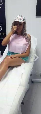 Sânziana Buruiană, din nou pe mâinile medicului estetician. Și-a refăcut nasul și buzele