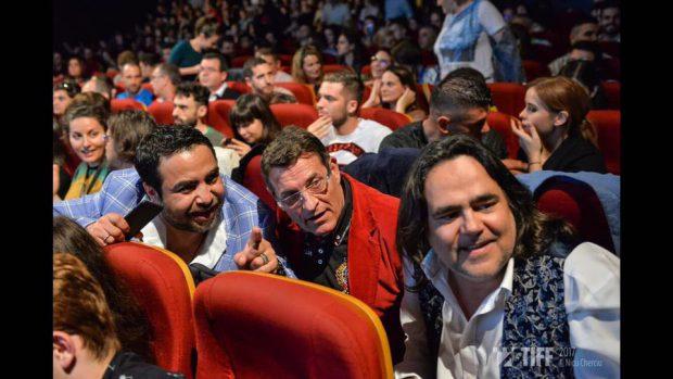 Manele la TIFF 2017. Sute de oameni au dansat pe melodiile lui Dan Bursuc