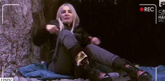 """Ce a pățit Daniela Gyorfi după două zile în sălbăticie. """"Aoleo! Nu mai pot să mă mișc"""""""