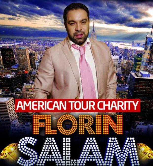 EXCLUSIV/ Florin Salam va cânta două luni în Statele Unite, deși acasă refuză cântări pe motiv de sănătate