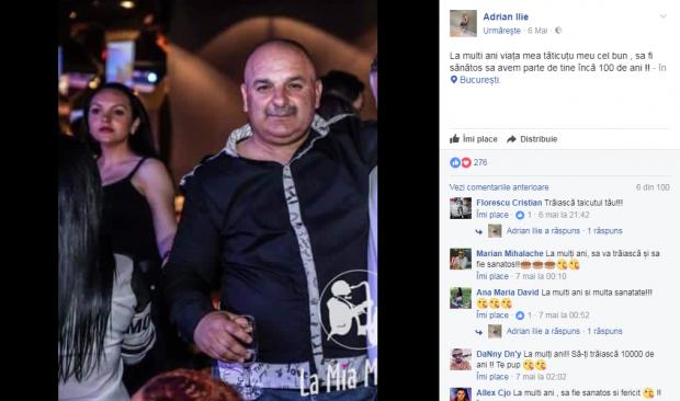 A murit tatăl lui Adrian Ilie! Încă o tragedie îndoliază fotbalul românesc