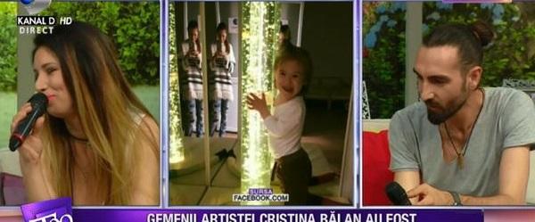 """Cristina Bălan și soțul ei, dezvăluiri despre boala gemenilor. """"Nu e nimic de făcut, trebuie să mă adun"""""""