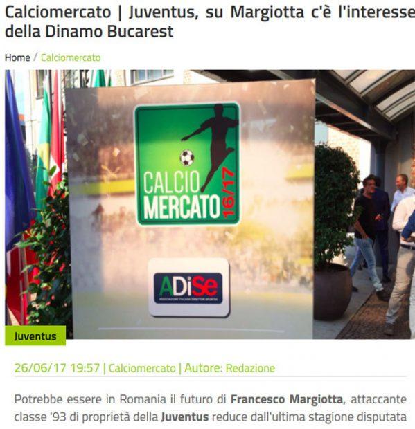 Anunțul lui Gianluca Di Marzio