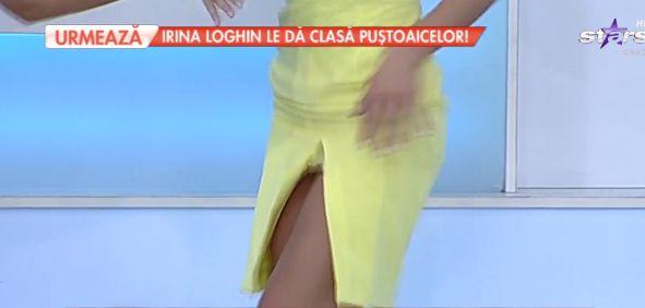 Natalia Mateuț și-a rupt rochia. A pățit-o în direct la TV