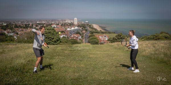 La Eastbourne, Simona Halep a fost surprinsă într-o ipostază incredibilă…
