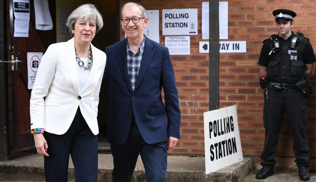 Alegeri legislative în Marea Britanie - Theresa May