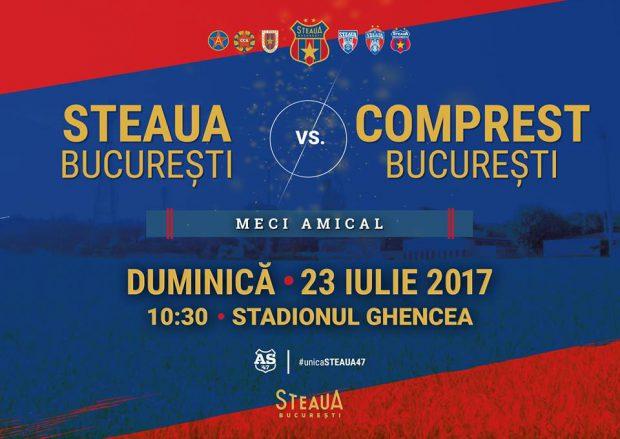 """S-a stabilit primul amical al celor de la CSA Steaua! Fotbalul se întoarce în """"templul"""" din Ghencea. Cine va fi adversarul de la acest amical istoric"""