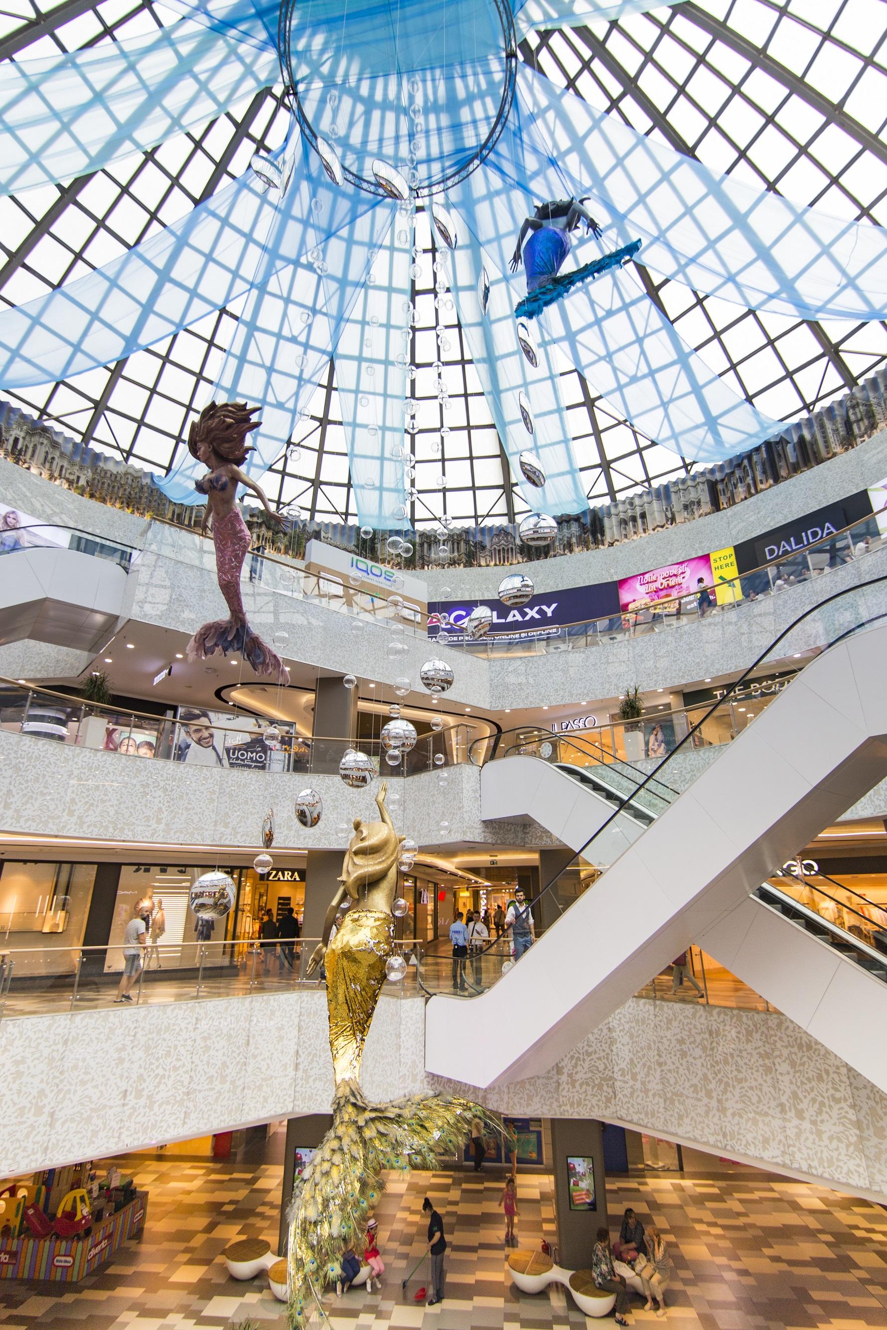 (P) București Mall Vitan aduce povestea Atlantidei în mijlocul orașului