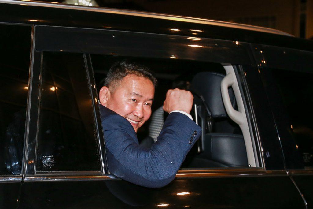 noul președinte al Mongoliei
