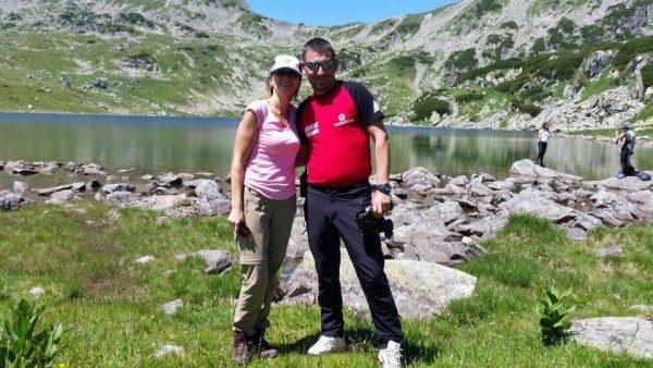Klaus Iohannis, în excursie în Munții Retezat. Președintele și soția sa au admirat frumusețea Lacului Bucura