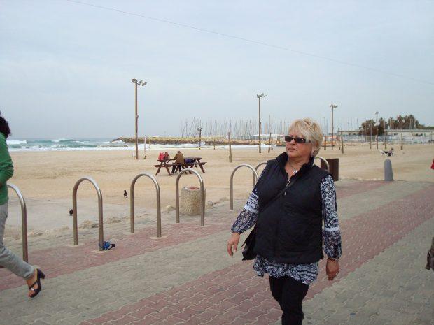 Mirabela Dauer in Israel, la Tel Aviv
