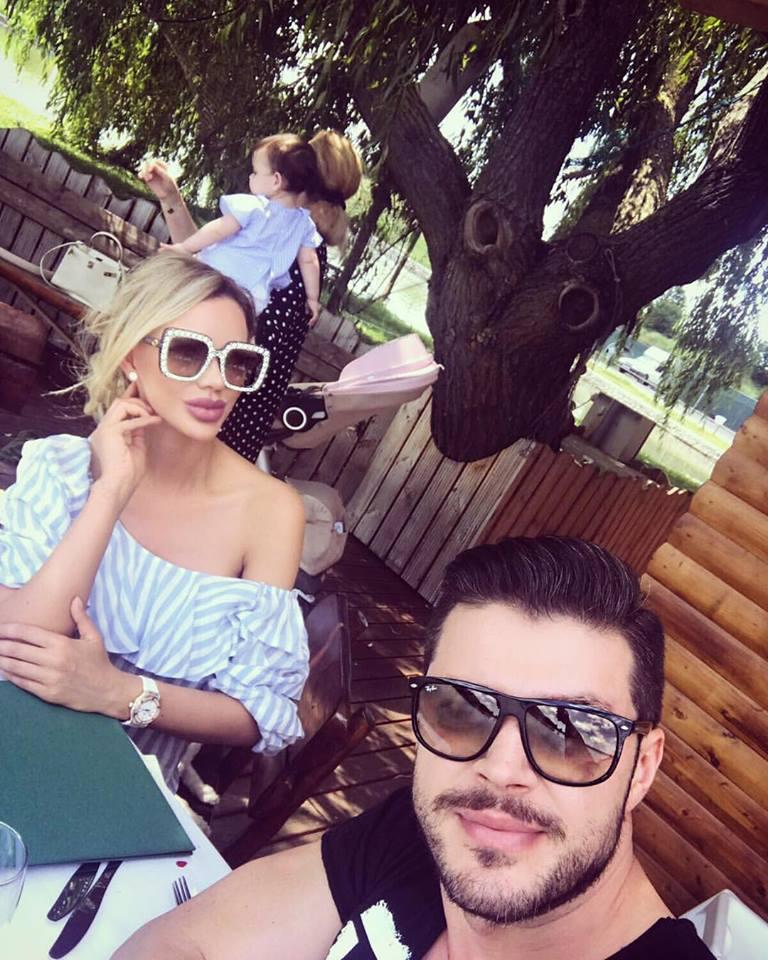 Victor Slav s-a lăudat cu Bianca și fetița pe internet. Ce i-a fost dat să-și audă urechilor