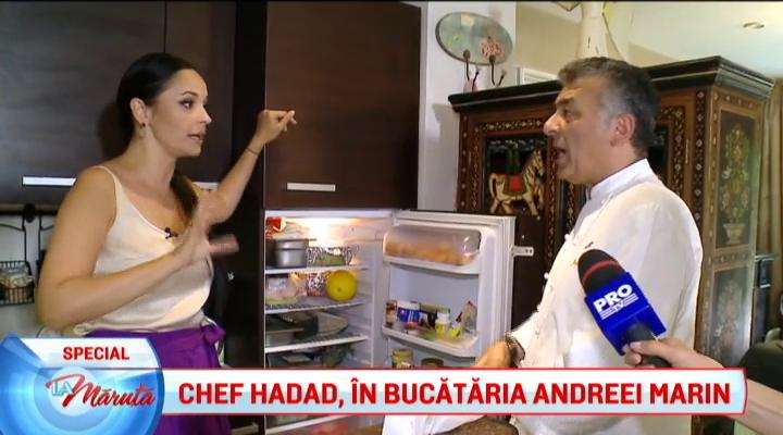 Ce ține Andreea Marin în frigider. Totul a fost făcut public la TV | FOTO