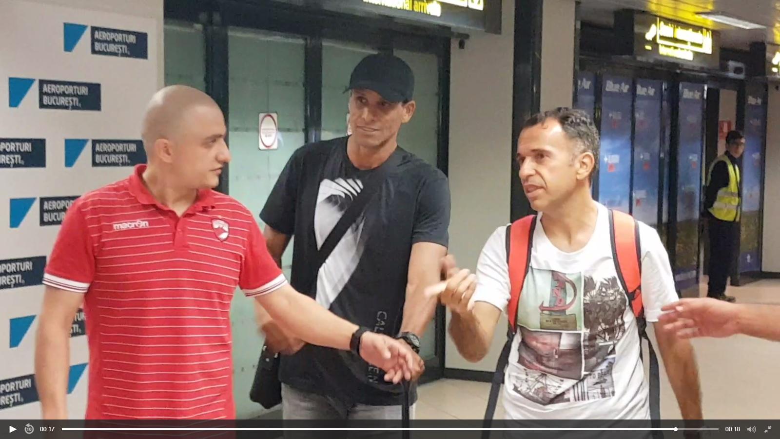Marele Rivaldo a ajuns în România. A venit să-l susțină…