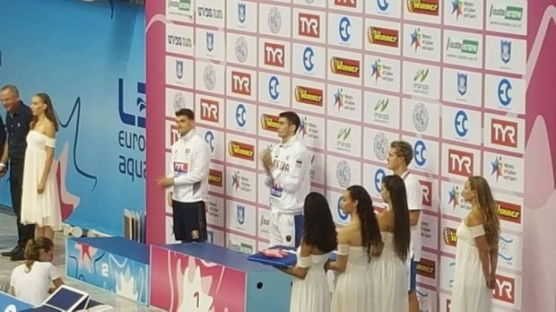 Daniel Martin a cucerit argintul la Europenele de natație pentru juniori, în proba de 200 m spate. Povestea înotătorului