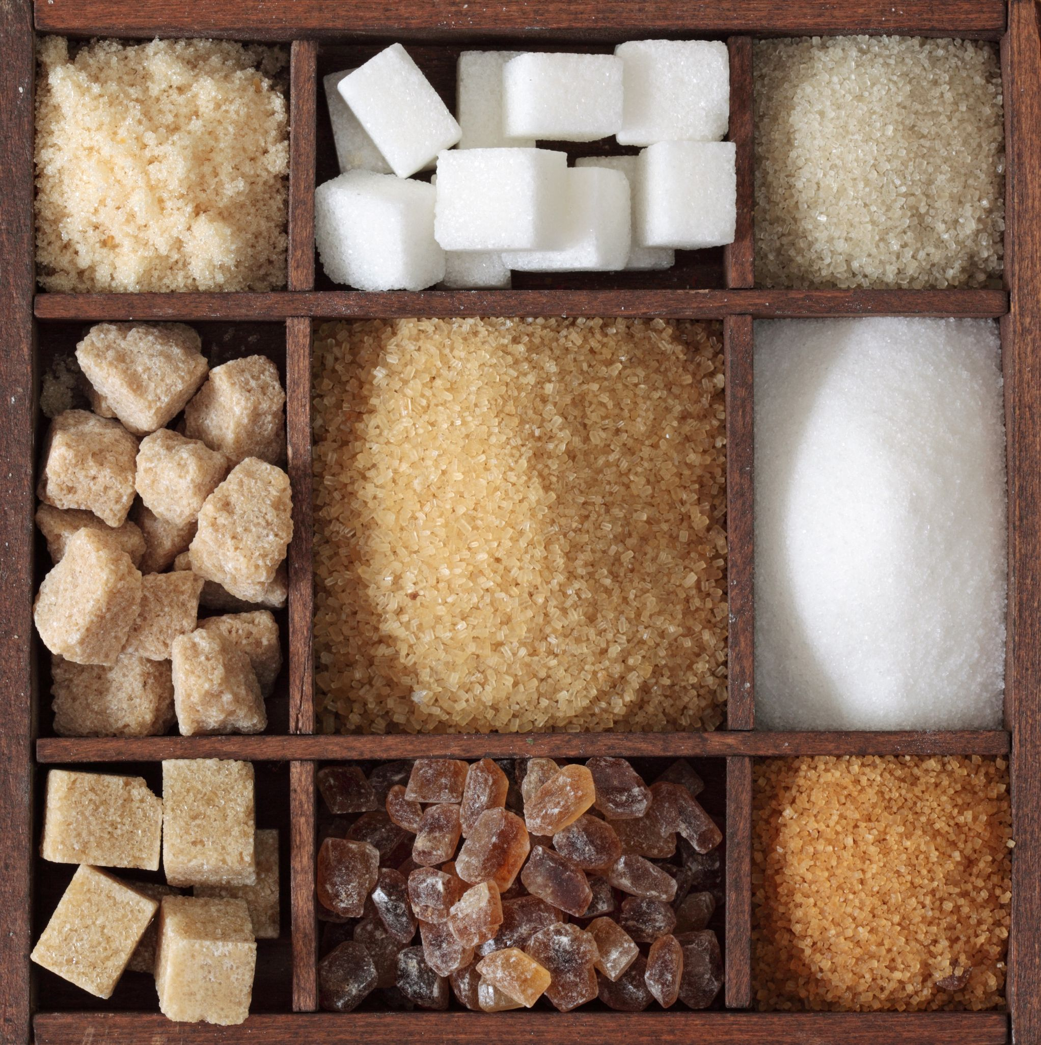 varietăți de zahăr