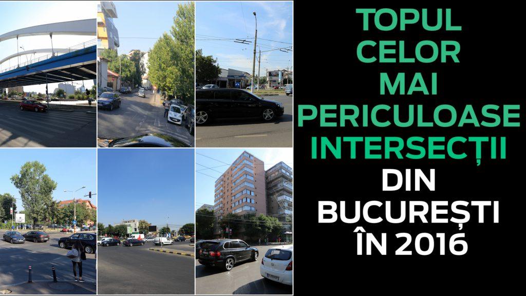 Cele Mai Periculoase Intersecții Din București Harta Punctelor