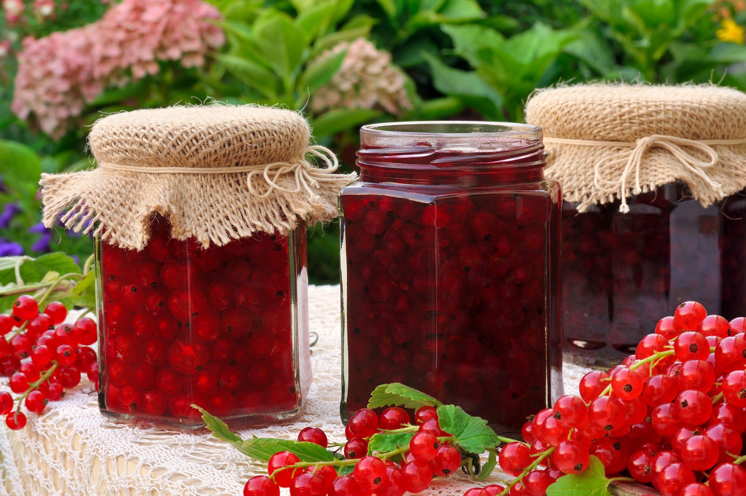 dulceață de coacăze roșii
