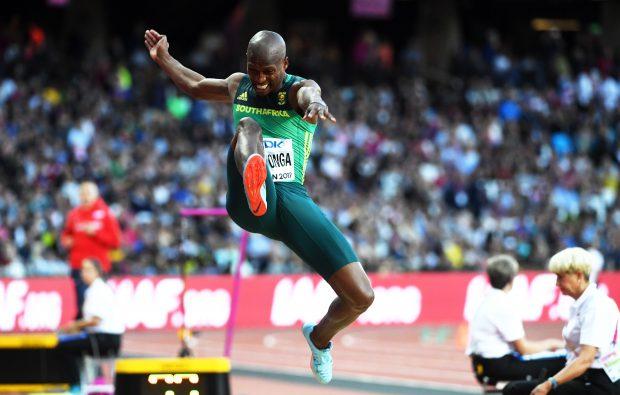 Luvo Manyonga este campion mondial la săritura în lungime. Sud-africanul și-a propus să bată un record imposibil
