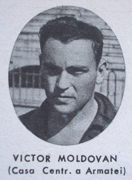 Victor Iuliu Moldovan, pe vremea când juca la marea echipă CCA
