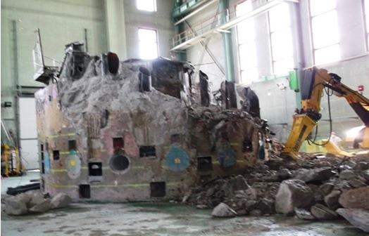 cel mai vechi reactor din Romania a fost dezactivat