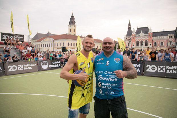 Luptătorul MMA Sandu Lungu a schimbat sportul! Unu la unu cu Levi Szjiarto, cel mai titrat baschetbalist român în activitate