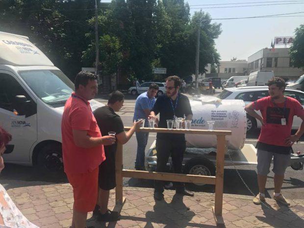 Apa Nova București stinge canicula