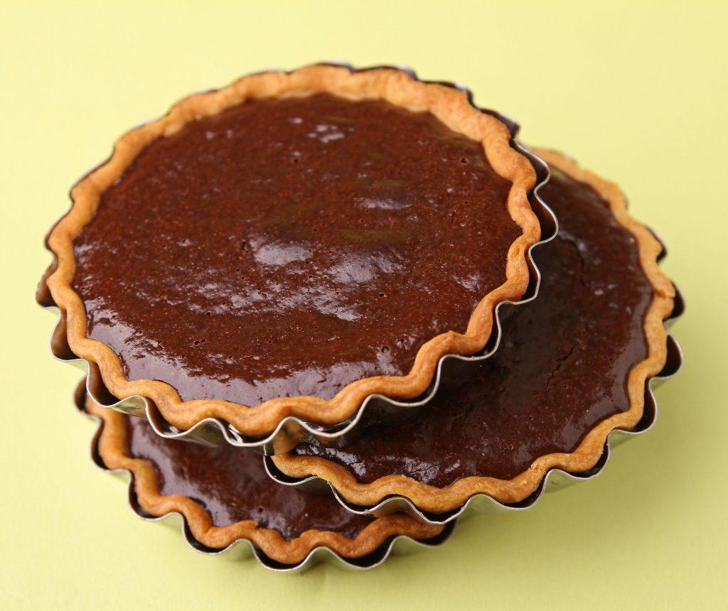minitarte cu ciocolată