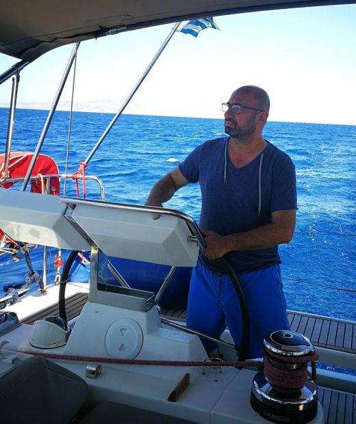Catallin Scarlatescu, vacanta pe barca