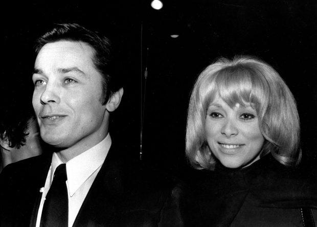 Alain Delon si Mireille Darc (sursa foto northfoto)