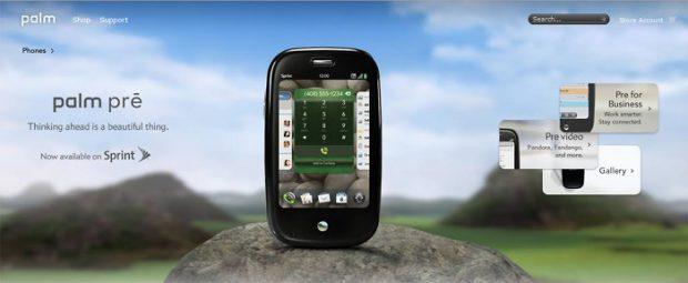 Palm va lansa noi dispozitive în 2018. Palm Pre pentru operatorul telecom Sprint