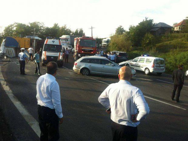EXCLUSIV/ Primele informații despre starea de sănătate a membrilor trupei Dj Project după accident