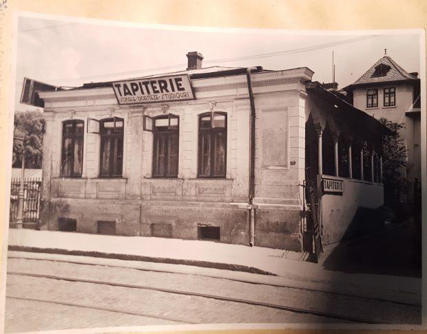 Cea mai veche casă din București a funcționat ca atelier de tapițerie în anul 1937