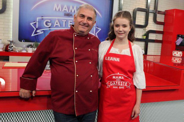 Horia Vîrlan gătește pentru prima oară cu fiica sa. Ce frumoasă este Ileana