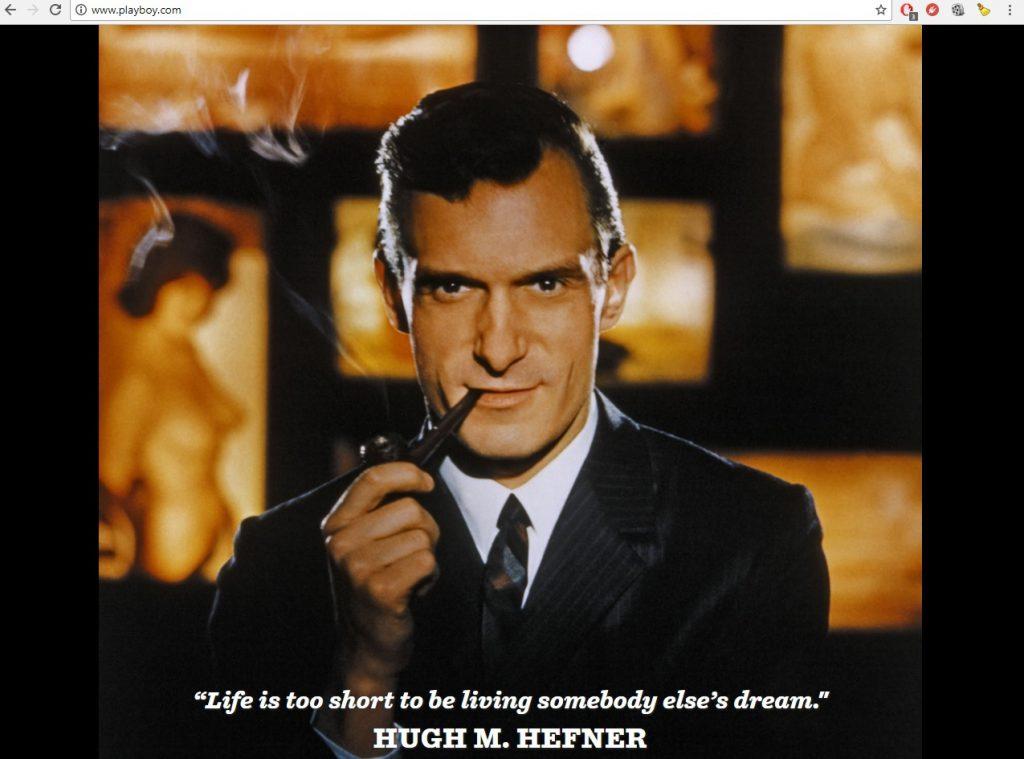 Mesajul emoționant al revistei Playboy după moartea lui Hugh Hefner