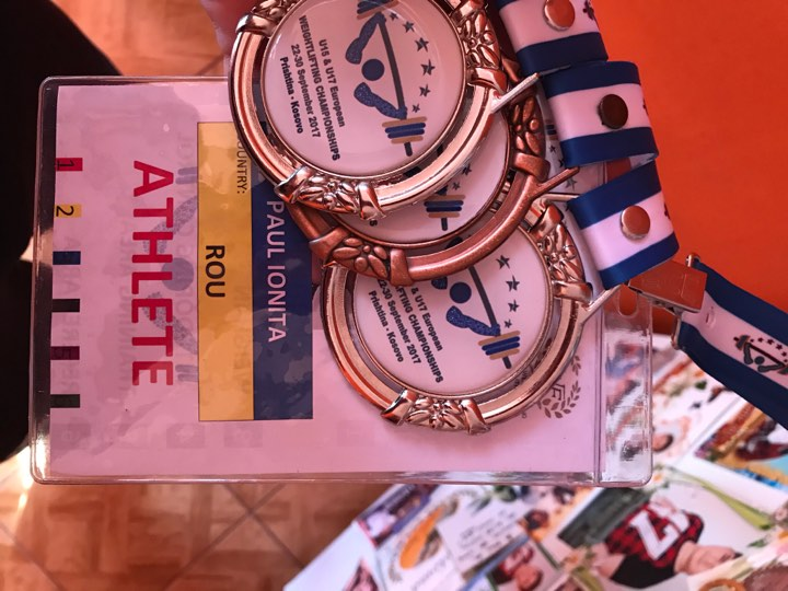 """EXCLUSIV. Mesaj de suflet pentru Alexandru Ioniță, de la fratele vicecampion european de juniori la haltere: """"Mult succes. Am încredere că vei confirma"""" / FOTO&VIDEO"""