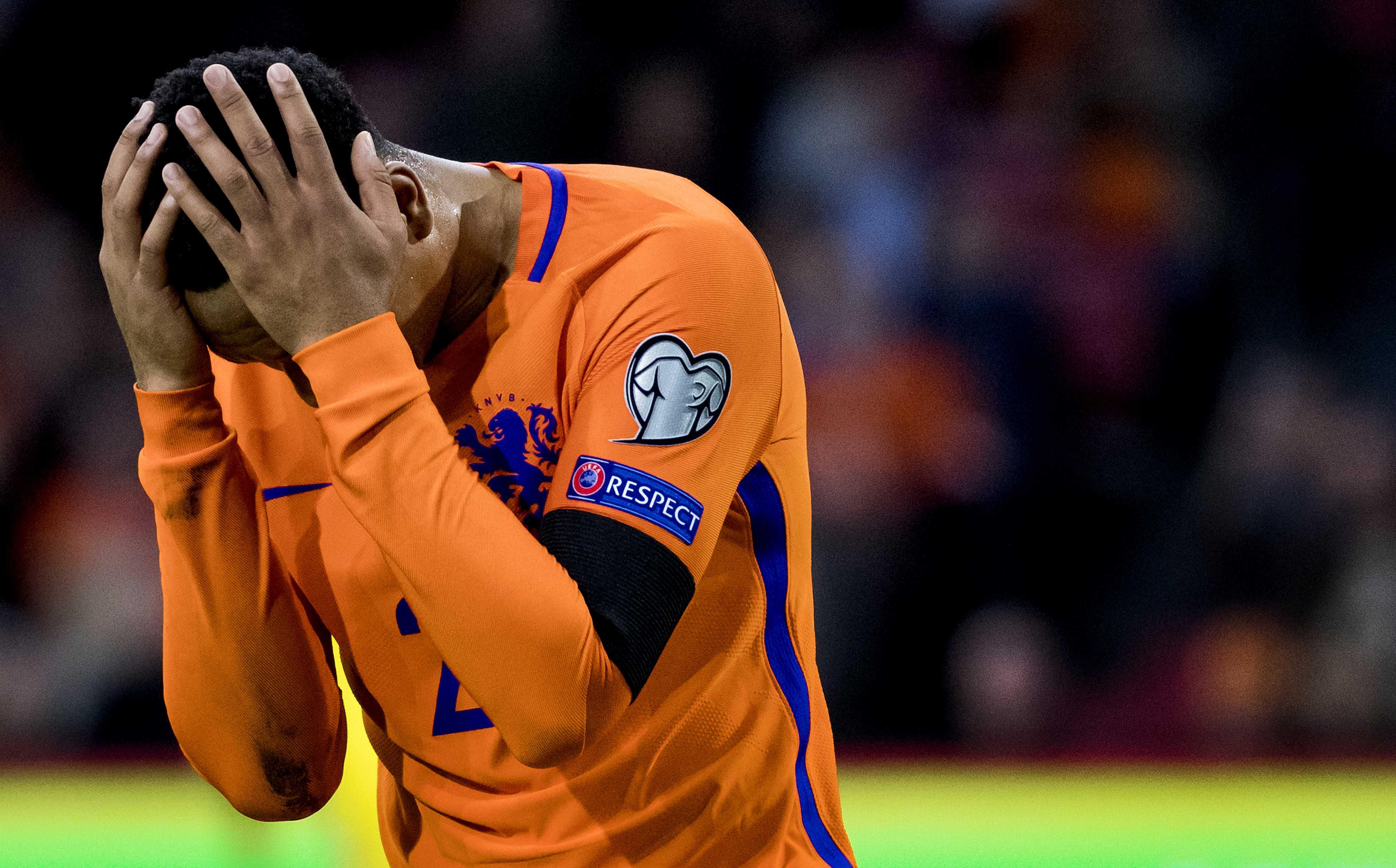 Visul olandezului Kenny Tete de a juca în premieră la Cupa Mondială s-a spulberat. (FOTO: EPA)