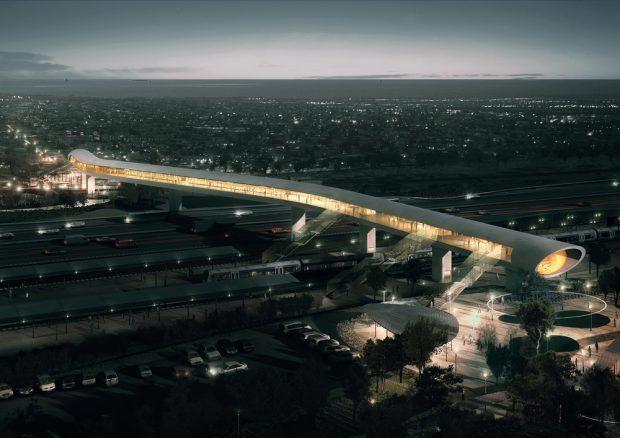 FOTO| Construcție spectaculoasă din Danemarca, realizată cu tablă de la ArcelorMittal Galaţi. Ce spune directorul combinatului