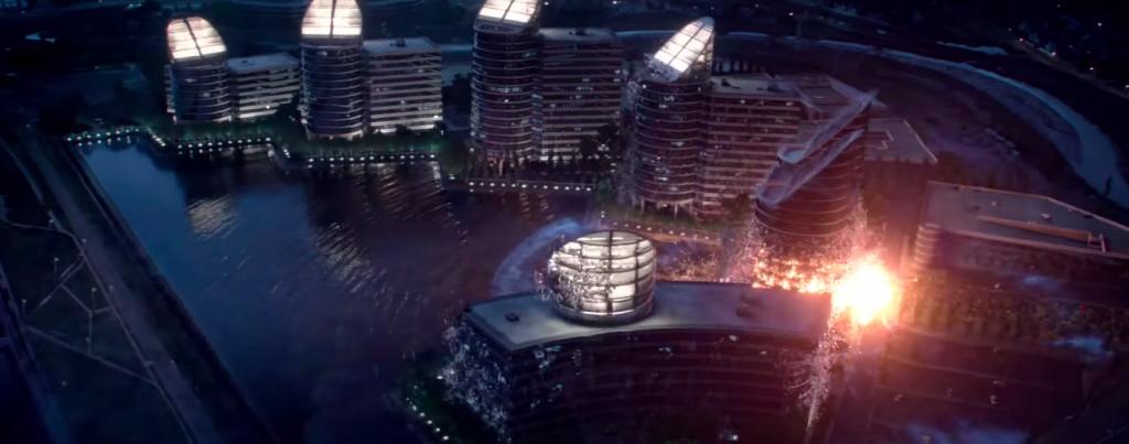 """Sediul Cyberdyne Systems, compania din filmul """"Terminator"""" care a creat Skynet"""